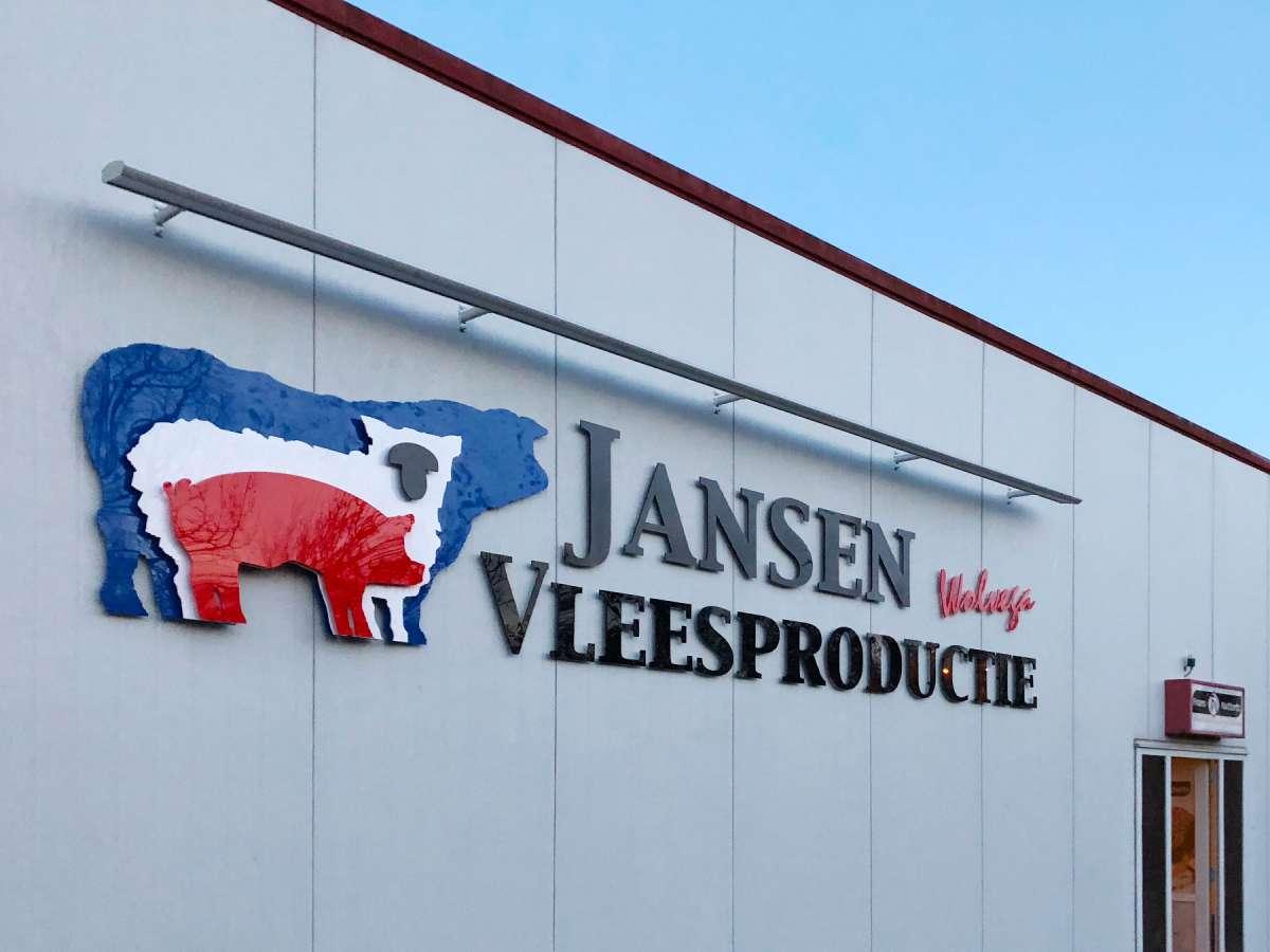 Gevelreclame-Jansen-Vleesproductie