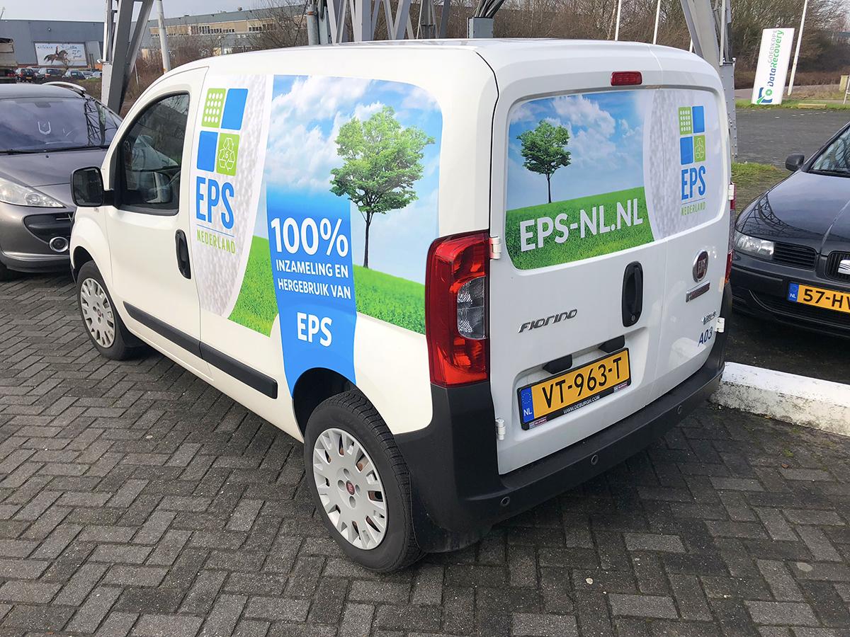 EPS Nederland autobelettering